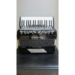 CROMATIC ACCORDION  72B DELICIA