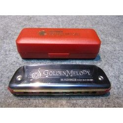 GOLDEN MELODY HARMONICA Ab-Db-B   OUTLET